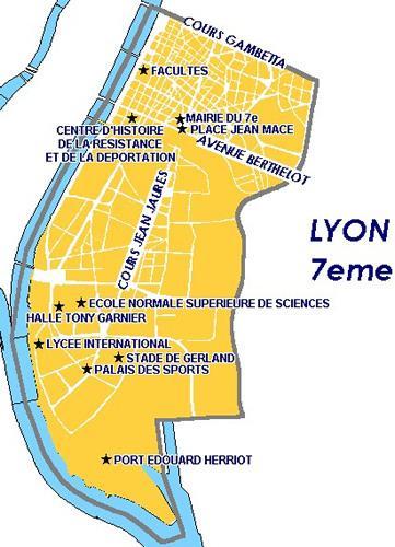 Carte De Lyon 7 | My blog